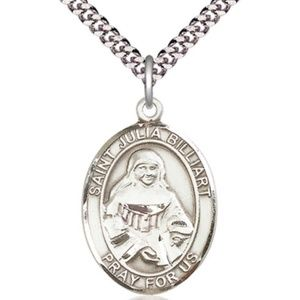 Jewelry - Sterling Silver St Julia Billiart Pendant